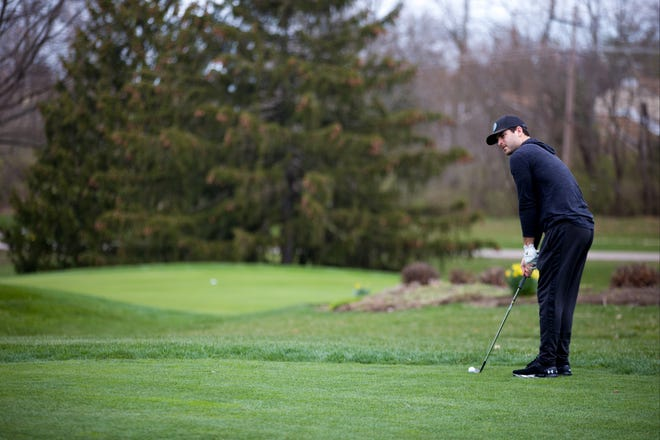 Golf courses across Greater Cincinnati were busy on Thursday, only a few days after Ohio's governor ordered all non-essential businesses to close.