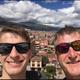 Okoboji resident Doug Svoboda (right) and his son, Brandon (left) remain stuck in Peru amid the coronavirus epidemic.