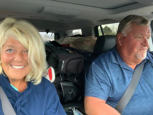 Tracy Ward and her husband Bruce Graham made the decision to leave their Manasota Key, Florida home to return to their permanent residence in Norwood Township, Michigan.