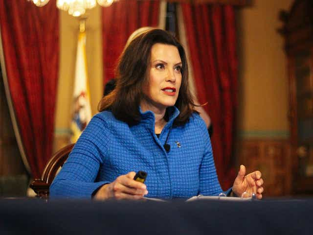 Mitch Albom: Hey, President Donald Trump, her name is Gretchen Whitmer