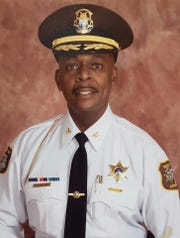 Wayne County Sheriff's Commander Donafay Collins is shown in a photo provided by the department.