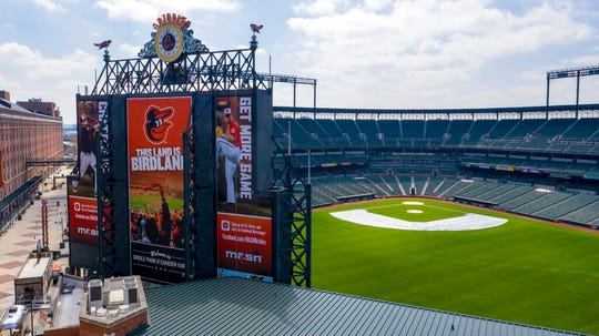While many in baseball believe the season won't begin until July, there is hope among some that containment of the coronavirus will be at a level that allows games to begin in June, possibly without fans in attendance.