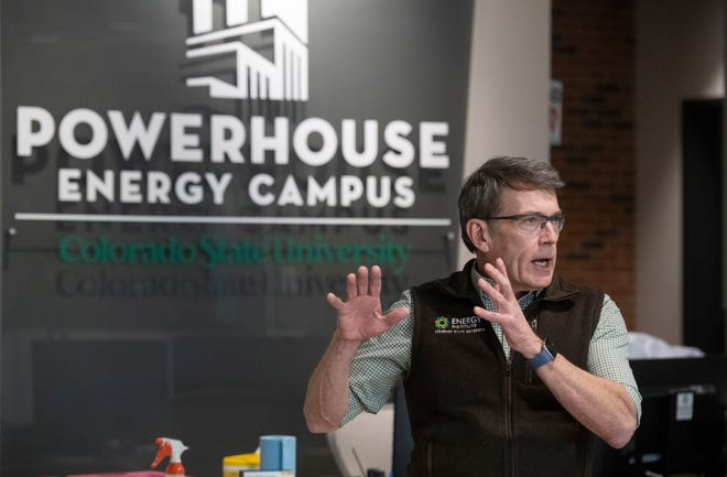 In this file photo, Bryan Willson, Energy Institute director, is pictured at Colorado State University Powerhouse Energy Campus in Fort Collins on March 25, 2020. Plans are now underway for Powerhouse II, north of the energy campus, that will focus on climate solutions.