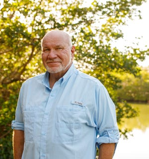 Bestselling novelist Randy Wayne White of Sanibel Island
