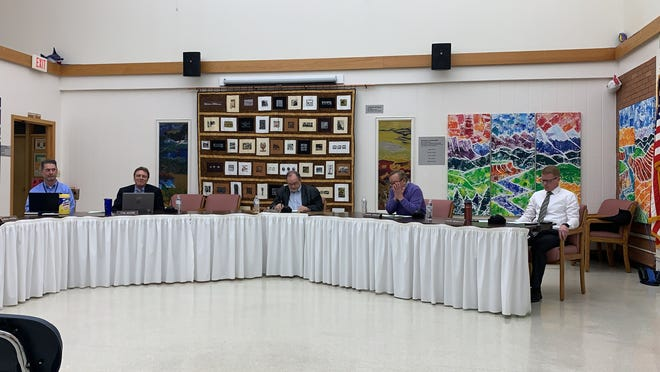 Great Falls Public Schools has been conducting its business through a hybrid meetings with almost half of it's trustees calling in through Zoom.