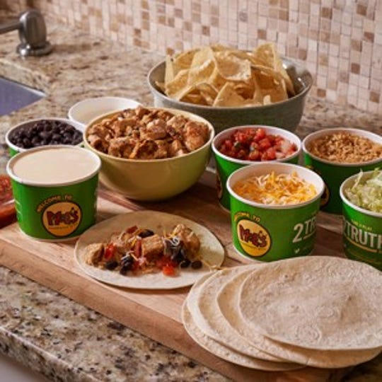 Build Your Own Taco Kit at Moe's Southwest Grill