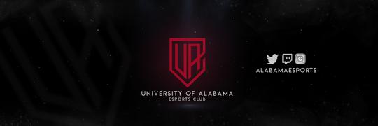The logo for the University of Alabama's Esports program.