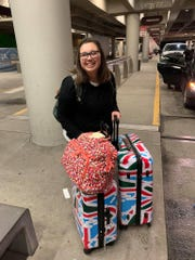 Bailey Howell was glad to be back in Tennessee after two full days of traveling from England.