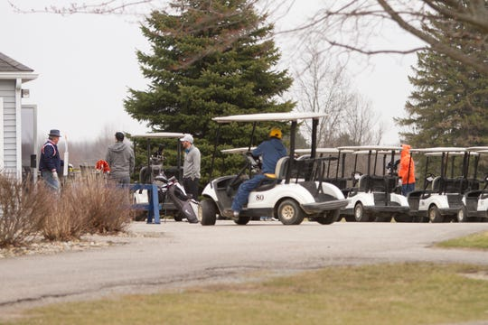 Hawk Meadows in Howell Township was open through Thursday, March 26, 2020, limiting golfers to one per cart or two if they are family members from the same home.