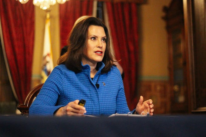 Michigan Gov. Gretchen Whitmer has deployed the state's national guard to help in assisting communities with the treatment of the coronavirus.