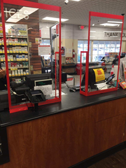 ShopRite of Greater Morristown installs Plexiglass shields at all registers and Guest Services counters.