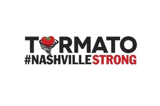 "A $25 donation to a GoFundMe to support East Nashville tornado victims gets you a ""tormato"" bumper sticker."