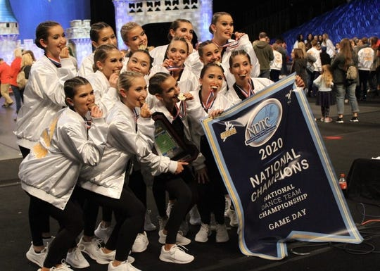 The Bison Bells won their first UDA National Championship title in Small Varsity Game Day, which took place in Orlando, Fla. from Jan. 31 through Feb. 2, 2020. The victory is the first championship in Station Camp High School's history.