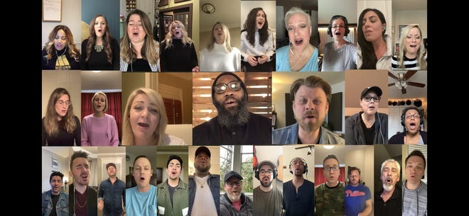 A group of Nashville studio singers harmonized on 'It Is Well With My Soul' in a new video produced by TenTwoSix Music Group