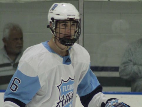 Estero resident Seamus Casey, 16, has been selected to play on Team USA's Under-17 national team. Casey started his career with the Junior Everblades in Estero.