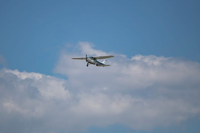 USA Today file photo of a Cessna plane, March26, 2020.