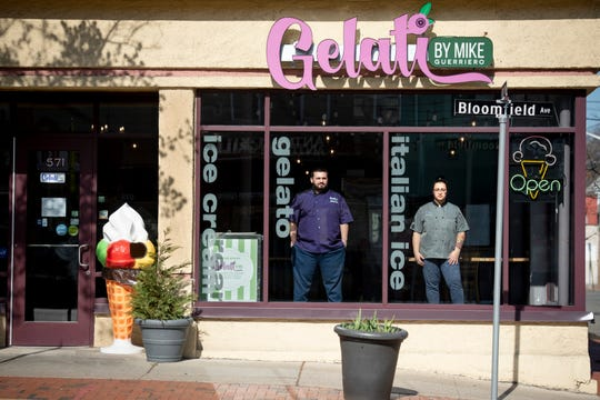 Sales at Gelati by Mike in Montclair are down sixty percent due to the coronovirus, however the business is staying afloat with delivery of ice cream, gelato, milk, eggs and half and half.  Owners Mike Guerriero and his wife Breanna Brito have the store open only for delivery service.