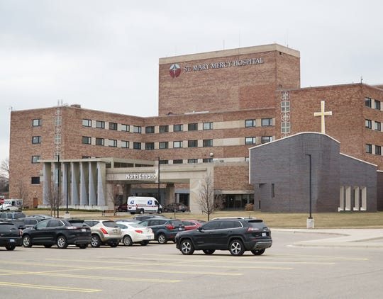 Livonia's St. Mary Mercy Hospital on Five Mile.