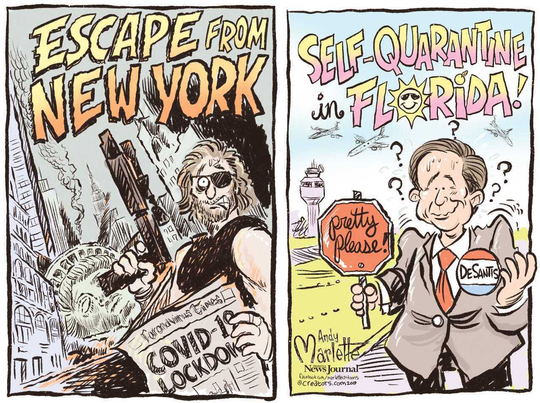 Andy Marlette cartoons of the week: March 27, 2020.