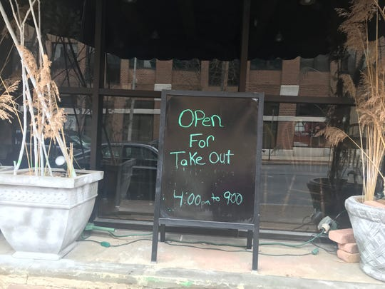 Restaurants across the state have been closed to sit-down service due to the novel coronavirus outbreak. The Downtown Lounge on Cumberland Street in Lebanon is one of many offering takeout.