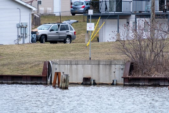 At a meeting in March, Port Huron City Council approved a bid for a $1.9 million project for the combined-sewer separation project where the Blue Water Bridge area project would've been.