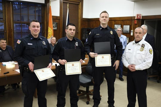 On March 18, 2020, Sergeant Roloson, Officer Day and Officer Henry were presented a Life Saving Award by Chief James Janso in front of the Town of Lloyd Town Board during their monthly meeting