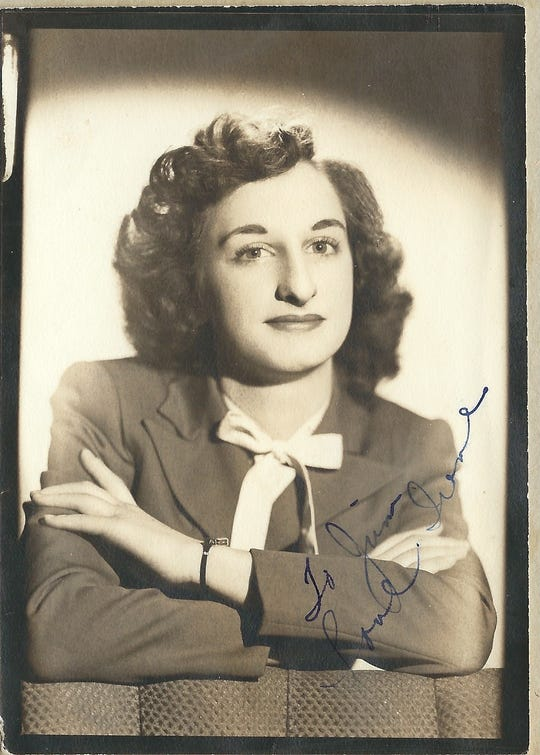 A photo of Irene Durbin, of Sparks, who passed away on March 22, 2020 at the age of 95.