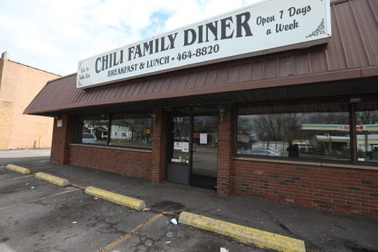 Chili Family Diner, a neighborhood restaurant on Chili Ave. in Rochester on March 25, 2020 is now take out only.