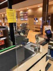 In the coming weeks, Wegmans will finish installing plexiglass shields, better known as sneeze guards, at all of its checkouts and pharmacies.