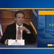 Gov. Andrew Cuomo delivers the state's latest coronavirus data at a briefing at the state Capitol on Thursday, March 26, 2020.