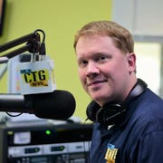 Ian Socha, better known as DJ Rusty Griswald, is a radio DJ and trivia host throughout Delmarva.