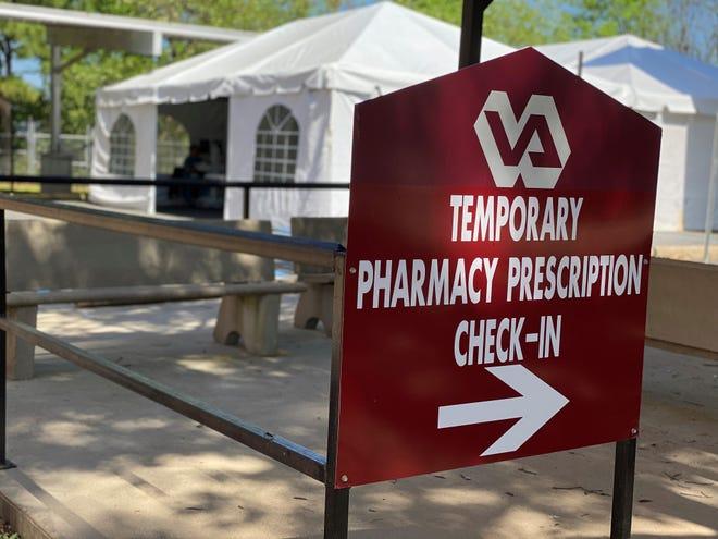 Shreveport Overton Brooks VA Hospital has opened a drive-thru pharmacy.