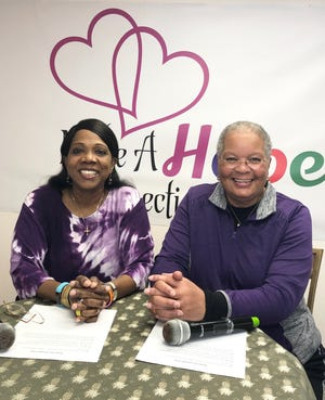 Rosalind Tompkins and Brenda Jarmon Hope for Health PSA
