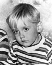 """Jonathan """"Jon Jon"""" Hagans was 3-years-oldwhen he went missing at Jacksonville Beach while on a family trip in 1968."""