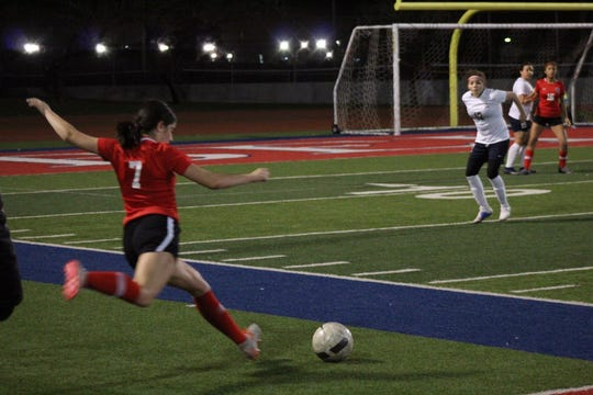 Fernanda Delgado is one of Bel Air's top soccer players and will play on the college level.