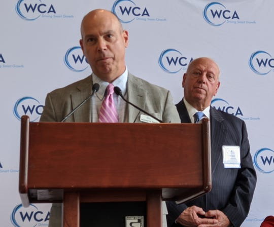 Westchester County Association President Michael Romita, left, will join CCNY Executive Director Kim Jacobs on March 26, 2020 at 2 p.m. for a Facebook Live discussion of small business loans on WCA's Facebook page.