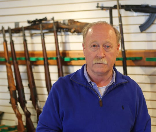 Robert Miller, owner of Miller's Gun Center