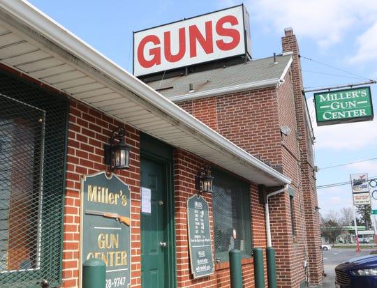 Miller's Gun Center near New Castle