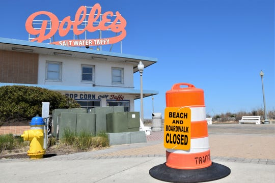 Officials have closed the beach and boardwalk in Rehoboth Beach and other Delaware beach towns to slow the spread of COVID-19.