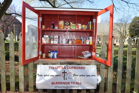 The Little Cupboard at St. Peter's Episcopal Church in Lewes wasn't put out because of the coronavirus outbreak, but it could help.