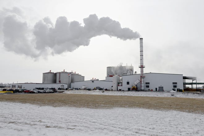Summit Carbon Solutions' project would gather carbon dioxide from at least 17 ethanol plants - in North Dakota, South Dakota, Minnesota and Iowa - and pipe it to North Dakota where it would be injected into wells and stored underground.