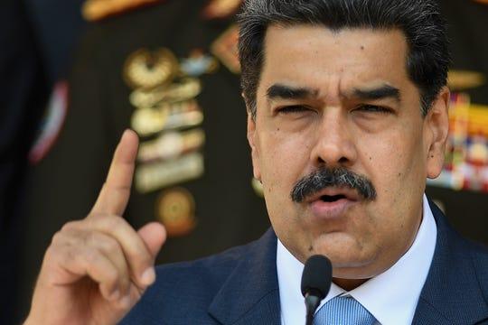 Venezuelan President Nicolas Maduro's government is accused of