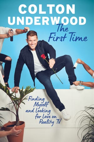 "Colton Underwood's memoir ""The First Time: Finding Myself and Looking for Love on Reality TV"" hit bookshelves March 31, 2020."