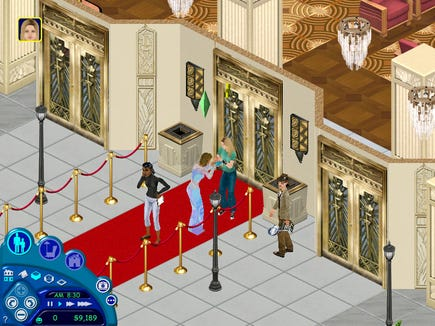 We just need a Sims mansion in real life.