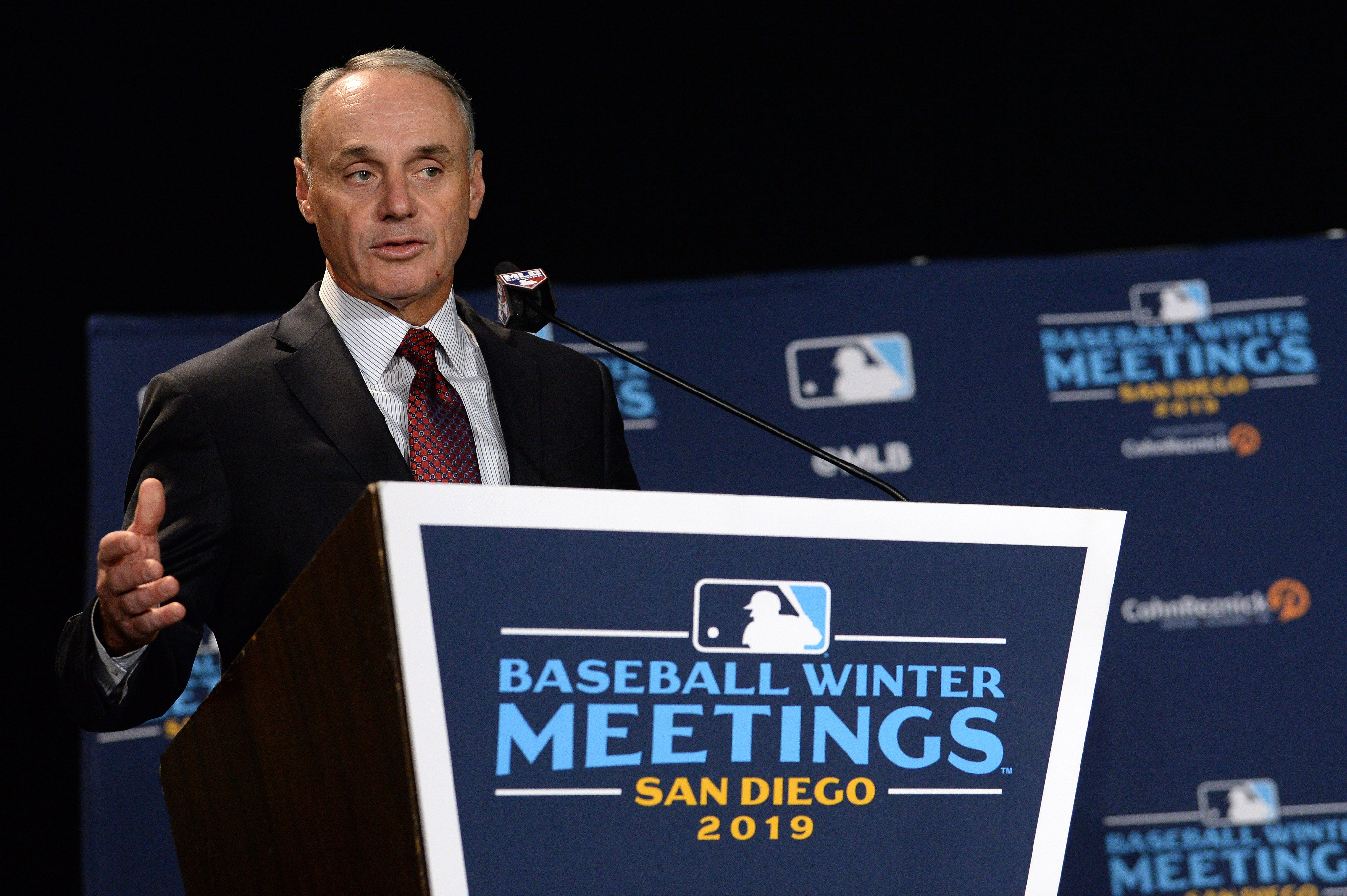 MLB commissioner Rob Manfred isn t optimistic about 162-game season