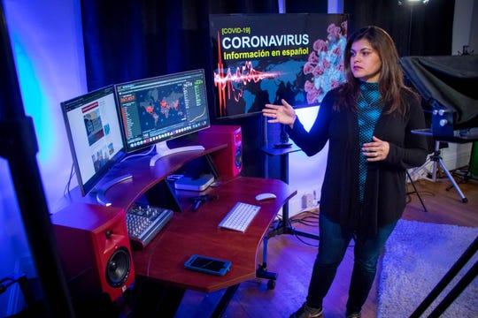 Adriana Chavela, executive director of Hola Community Arts.