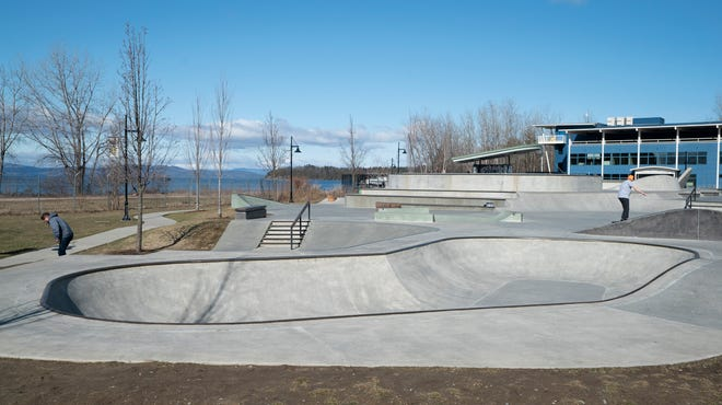 Andy A_Dog Williams Skate Park along the Burlington Waterfront Park on March 27, 2020.