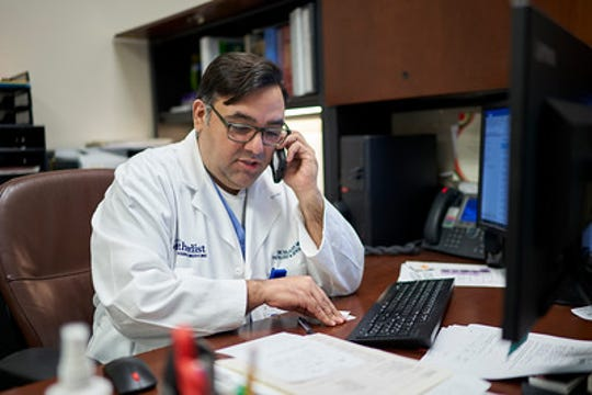 Dr. Eric Salazar, with the department of pathology and genomic medicine at the Houston Methodist Research Institute and Houston Methodist, recruits recovered COVID-19 patients willing to donate plasma in hopes of saving the lives of critically ill COVID-19 patients.