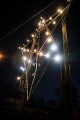 The Chillicothe star on Carlisle Hill has been lit to provide inspiration and hope to the community amid the pandemic. The star is normally lit around Christmas time.