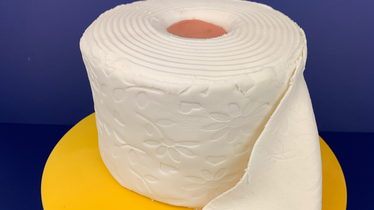 Busken Bakery is making toilet paper cakes
